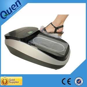 Auto shoe cover dispenser for clinic
