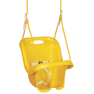 Plastic outdoor growing up style baby hanging single swing chair