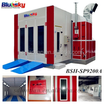 Bluesky China Supplier Used Car Paint Booth For Sale Spray Booth ...