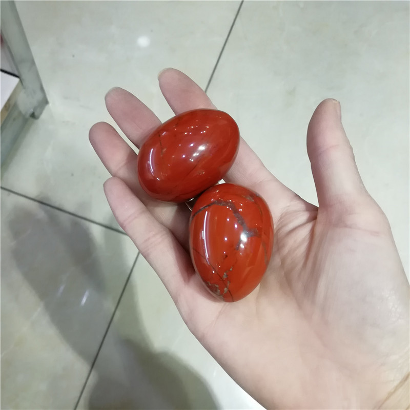 Great Quality Red Jasper Sexy Exercise Yoni Egg and Wand