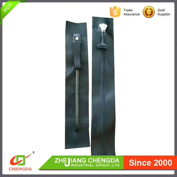 CHENGDA 2017 Durable Brand Logo ISO9001 Eastern Europe Waterproof Zippers