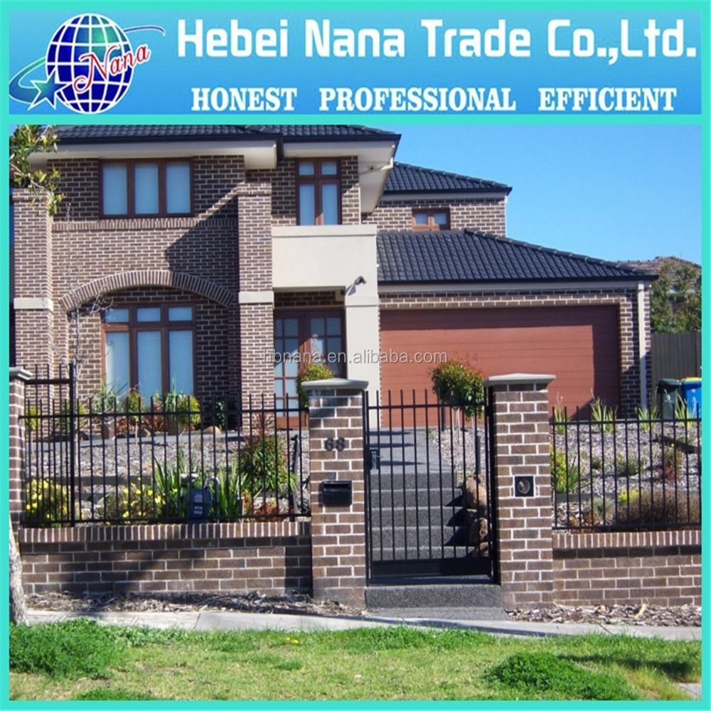 Disegno di scherma per le case, decorativa villa recinzione ...