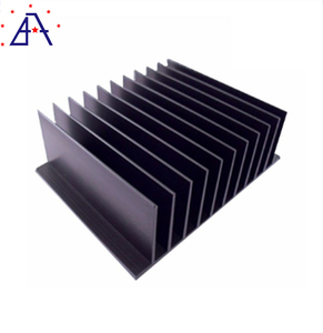 Brilliance ISO 9001standard extruded aluminum heatsink