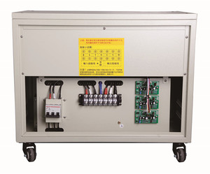 15KVA 3 Phase Power Supply Electric Current Voltage Stabilizer For PC