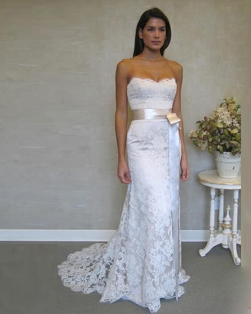 Simple Second Wedding Ideas: Popular Casual Winter Wedding Dress-Buy Cheap Casual