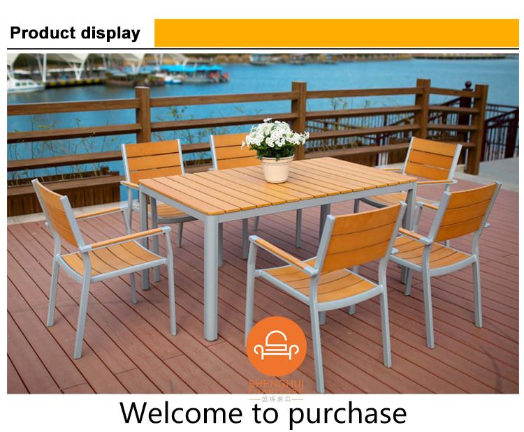 Garten Teak Gartenmöbel Metall Kunststoff Holz Tisch Und Stuhl