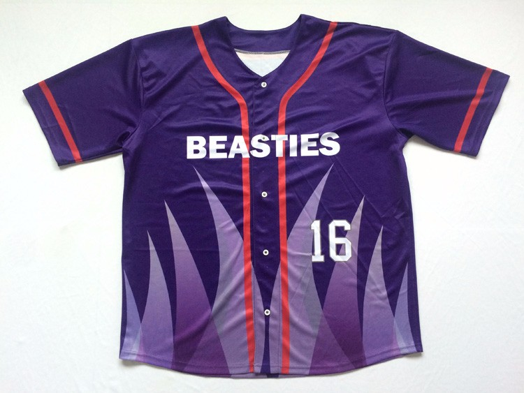 4b1a0676f4 wholesale sublimated button down pinstripe sleeveless baseball jersey