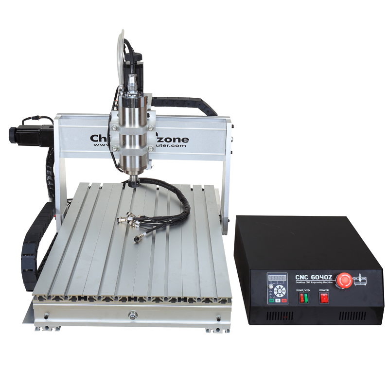 Low cost <strong>CNC</strong> 6040 1500W spindle milling machine