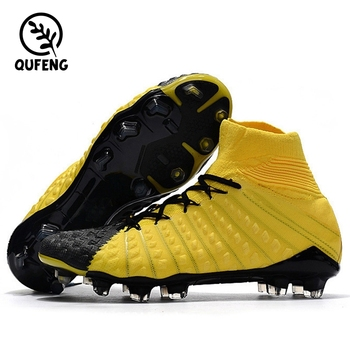 One For Sale 2018 World Cup Russia Superfly Sports shoes Men Best High  ankle Football boots 06d8218de3bf
