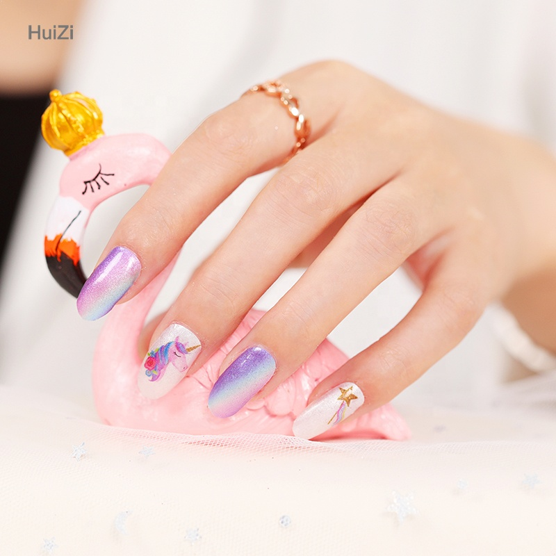 New arrival for korean nail art fashion nail art designs stickers hot designs for nail wraps