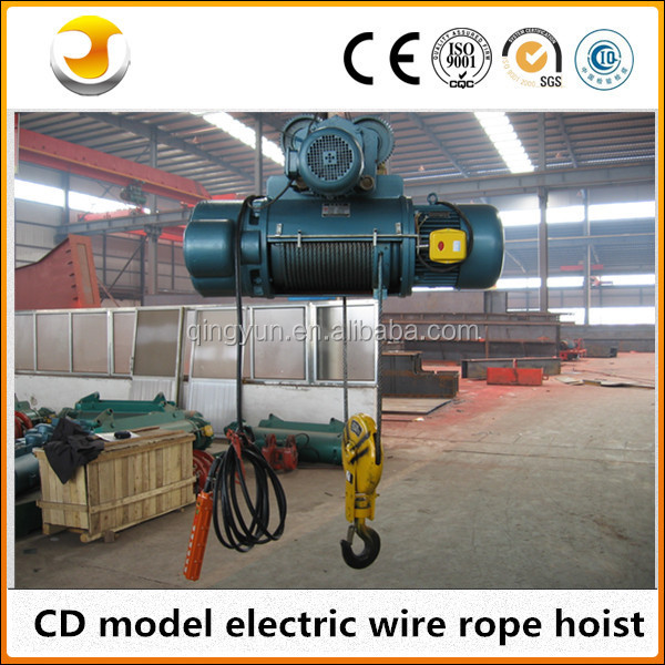 Inquiry certificate building construction materials lift NEW Type!20t electric hoist with trolley 1t 3t 5t 10t 15t 25t 30t