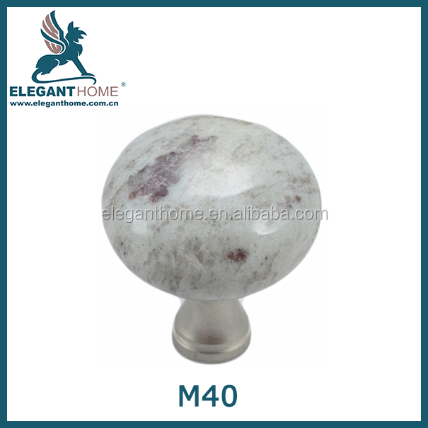 Elegant Natural Stone Cabinet Knobs - Buy Marble Handles And Knob ...