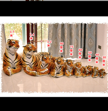 free sample stuffed simulation brown tiger jumbo plush tiger gaint huge big size soft plush tiger toys