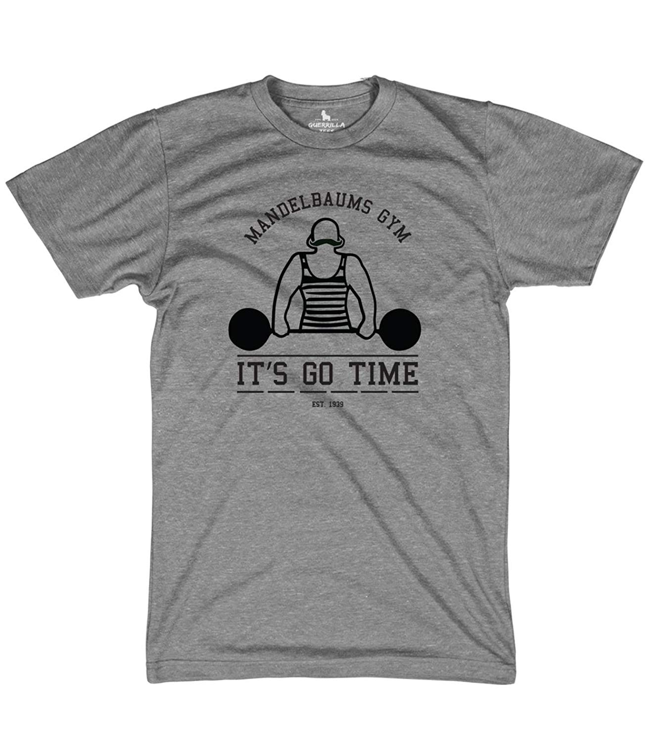 a0d049d9b Get Quotations · Guerrilla Tees Mandelbaums Gym Shirt Funny Graphic tees  Workout and Weightlifting tv Shirt