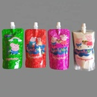 Aluminum Pouches Packaging Stand Up Spout Pouch Bag For Milk Beverage