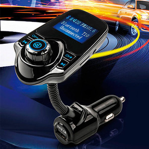 Bluetooth FM Handsfree Transmitter Wireless In-Car bluetooth FM Transmitter Radio Adapter Car Kit
