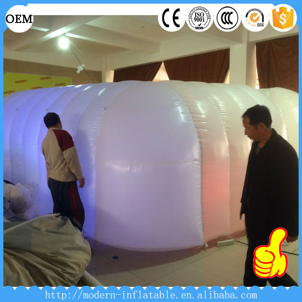 Stage Inflatable Wall With LED Lights For Party Decoration