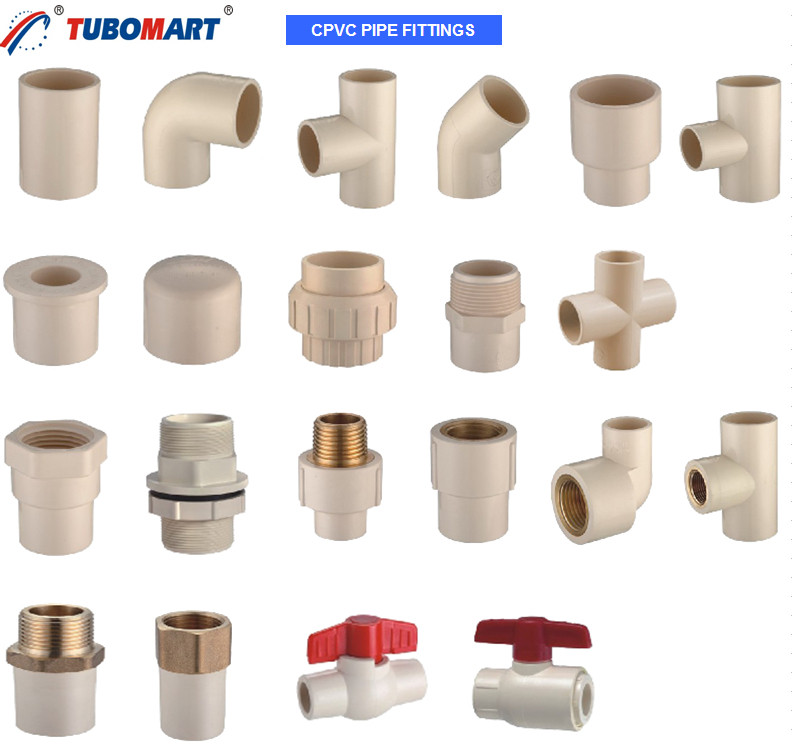 C pvc pipe fittings buy cpvc fitting