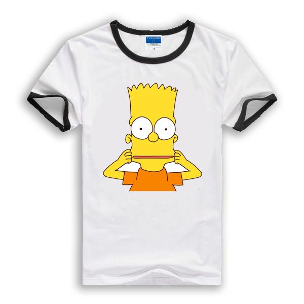 d8ca6aec22 Get Quotations · New 2015 children t shirts Simpsons boys minion t shirt  Cotton T-Shirt kids hoodies