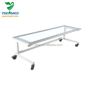 YSENMED YSX1057 low price simple x ray radiology table option cassette holder x ray table