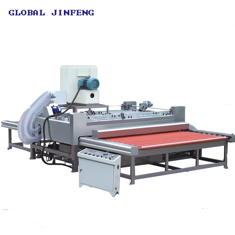JFP-2500 PLC Horizontal low e glass wash machine
