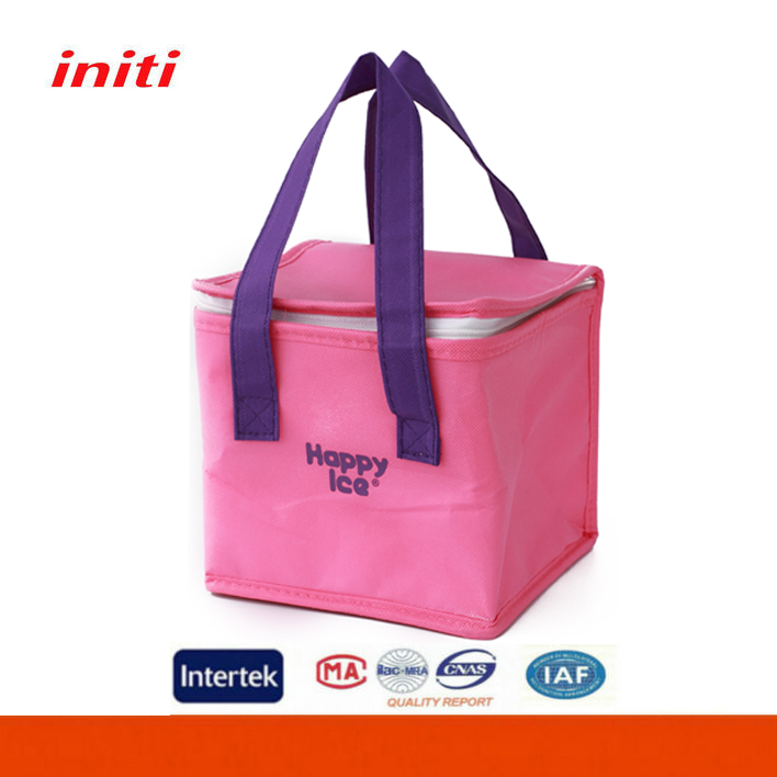 Customized Non woven Material Insulated Lunch Cooler Bag for Picnic