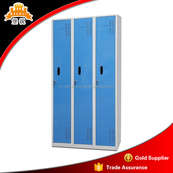 Cabinet Design For Clothes For Kids 900mm width 3 door design metal clothes wall cabinet with mirror