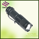 Adjustable focus zoom led flashlight/cree Xml-t6 torch flashlight/mini torch with Clip