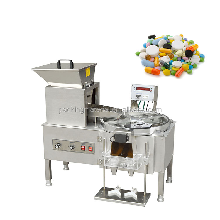 YL-2 Desktop tablet capsule pill bottle filling automatic counting machine