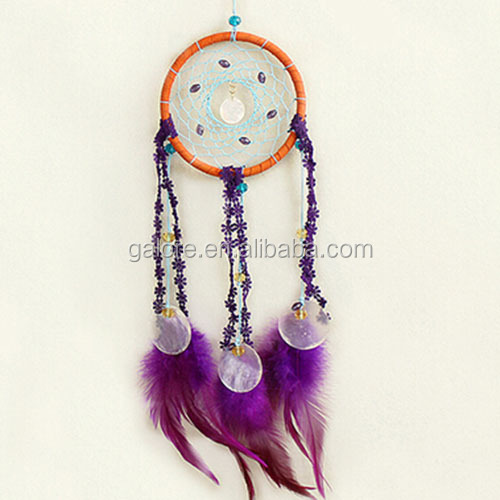 fashion purple cherokee ribbon dream catchers