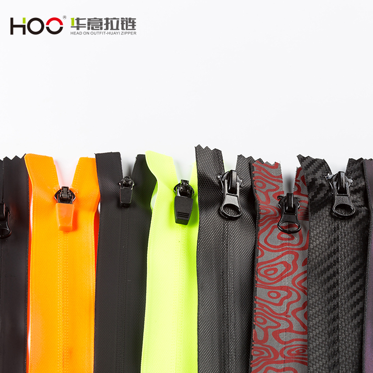HOO 3# Nylon Waterproof Reversed zipper 2018 hot-sale coatsports jackets Cycling