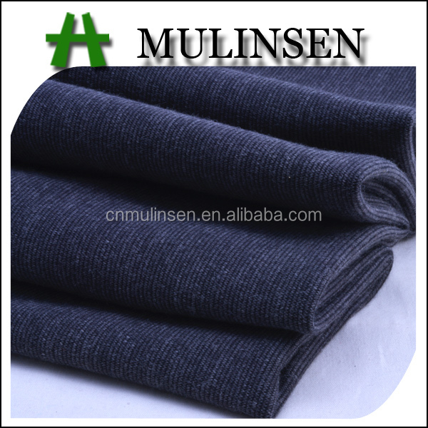 Mulinsen Textile Solid Color Polyester Spandex Ponte De Roma Men's Formal Pant Trousers Fabric