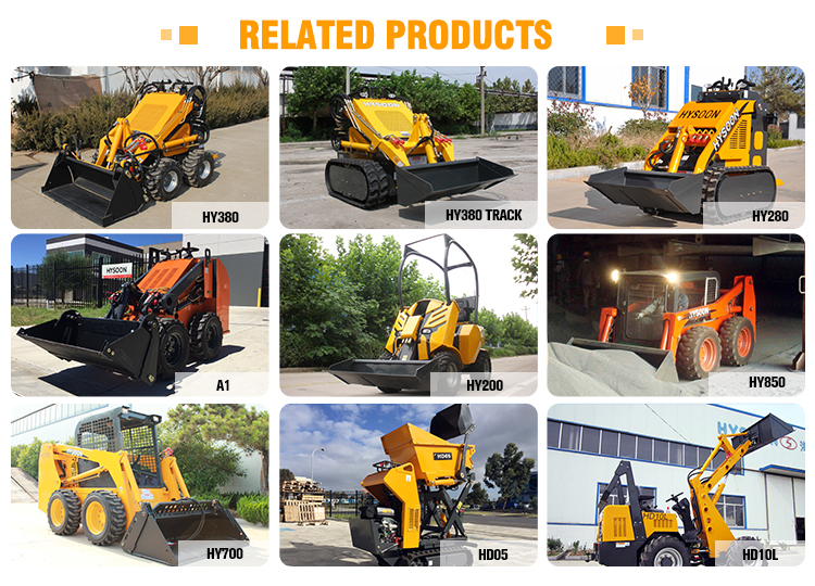 china avant quick coupler 4wd compact articulated Mini wheel loader with CE certification