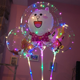 "2019 Hot Sale 18"" LED Fairy Light CLEAR Bobo Balloon pig balloon"