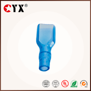 PVC material terminal straight insulation sleeve