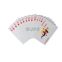 WJPC-Cheap Playing Cards Logo High Quality Customizable Advertising Playing Cards
