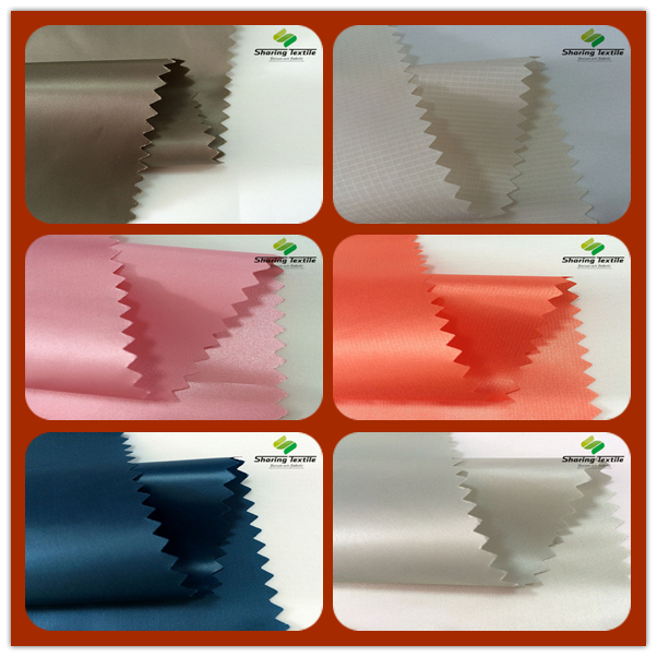 Wholesale 40D*40D 300T To 360T Jacquard Dobby Ripstop Grid Check  Nylon Polyamide Taffeta Fabric