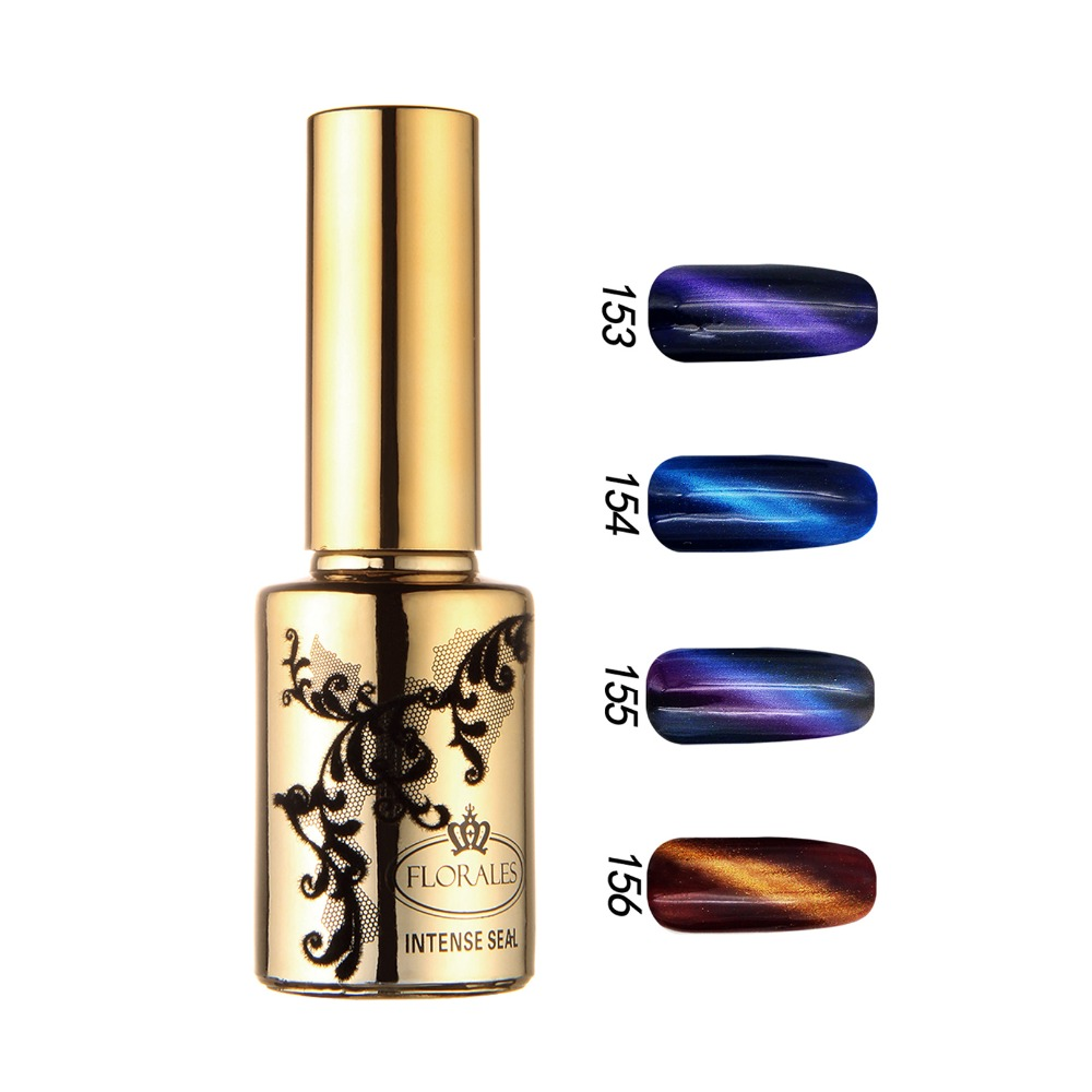 Free shipping 5D Magic Charm Gel Polish 12 pcs Floraes Gel Nail Polish15ml 12 colors for