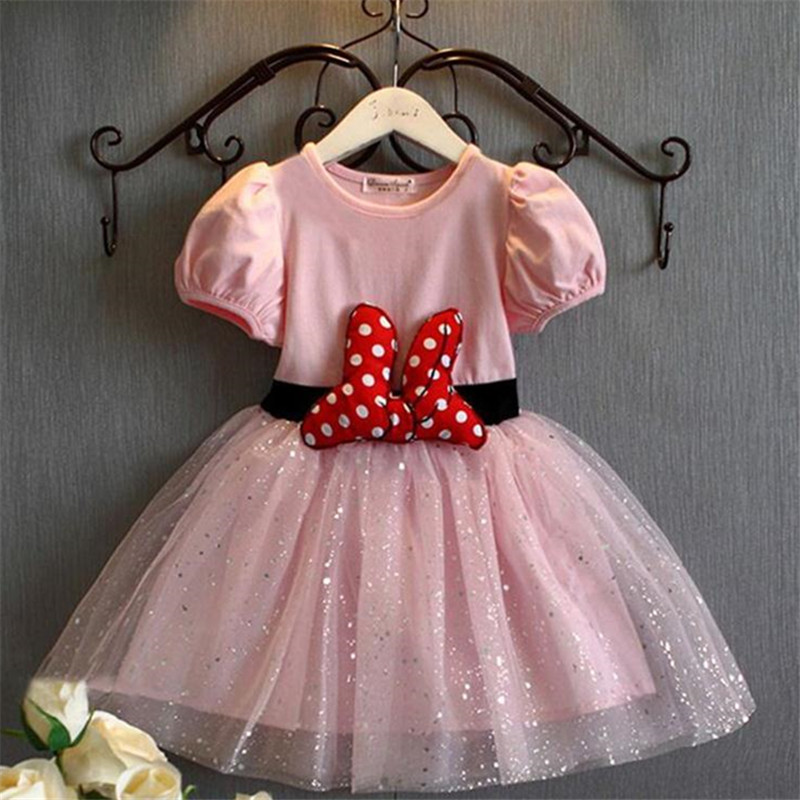 99789e2d8 Beautiful Clothes For Kids Baby Girls Dress Bow Sashes Carnival ...