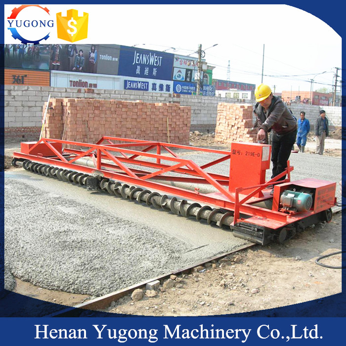 YG219 Vibrating asphalt paver price for sale with factory price