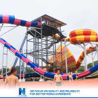 Hot sell Best Price family water slide fiberglass Factory in china