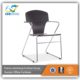 modern wooden fixed back visitors office waiting room chairs