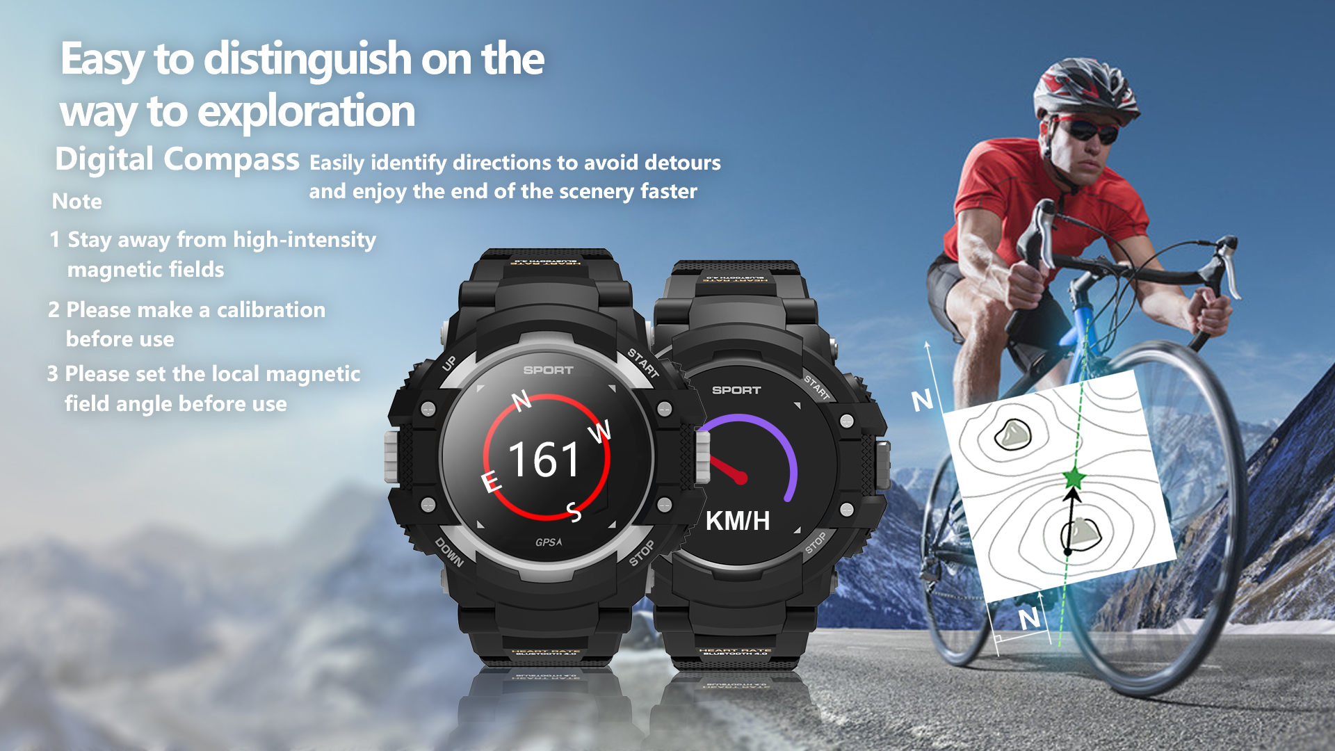 F7 GPS Heart Rate Detection Sleep Monitoring Tracker IP67 Waterproof Smartwatch