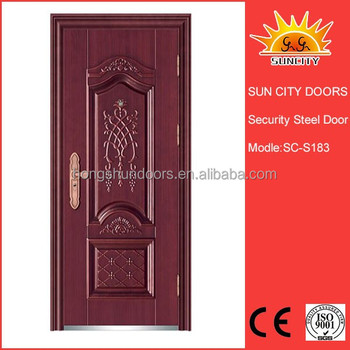 modern cheap used exterior steel stainless steel doors for sale