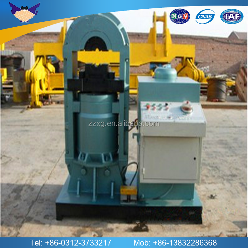 High pressure hydraulic wire rope swage press use to press wire rope sling