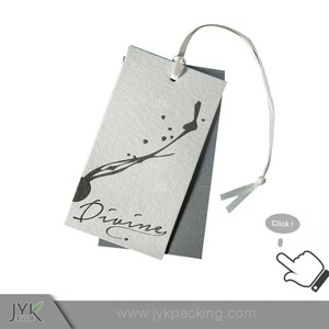 customized Printed hang tag rolls,jeans hang tag,hat hang tag printing in factory