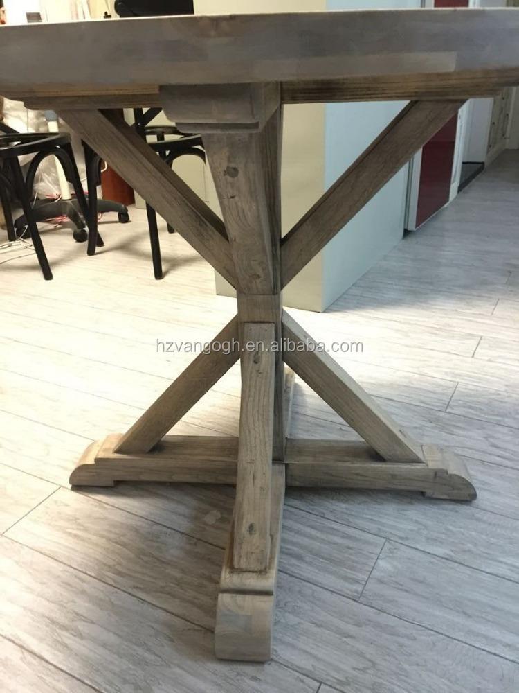 runde solide antike eiche esstisch bauernhaus mensa tabelle, Esstisch ideennn