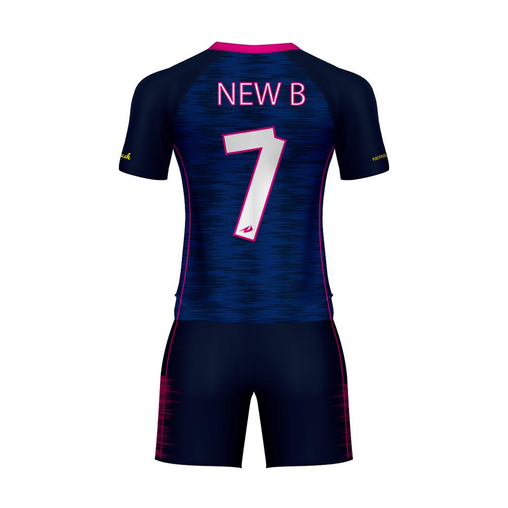 d0358bafa55aa Vuelos de sublimación de diseño su propio equipo de fútbol Jersey uniforme