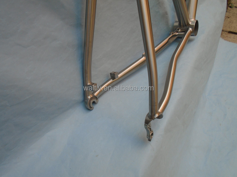 Most welcomed titanium road bike frame cheap