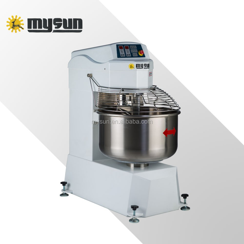 wholesale 25kg stainless steel spiral dough mixer/ bakery machines dough mixing machine for flour